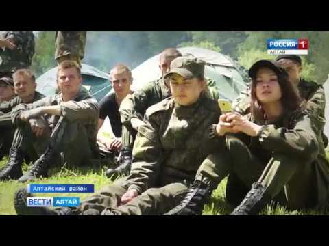 Юные алтайские спецназовцы прошли через серьёзные испытания, чтобы получить оливковые береты