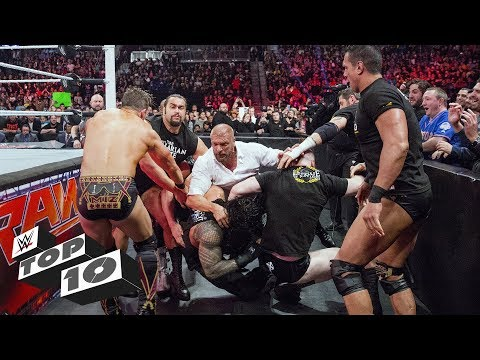 Craziest Locker Room-clearing Clashes: WWE Top 10, June 24, 2019