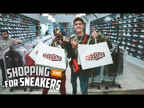 Shopping For Sneakers With Famous Dex