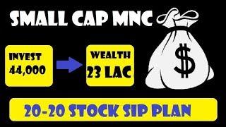 SMALL CAP MNC FOR CORE PORTFOLIO      STOCK SIP PLAN    JOHNSON CONTROLS HITACHI AC