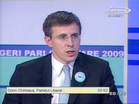 Dorin Chirtoaca vs Vlad Filat (Alegeri 2009)