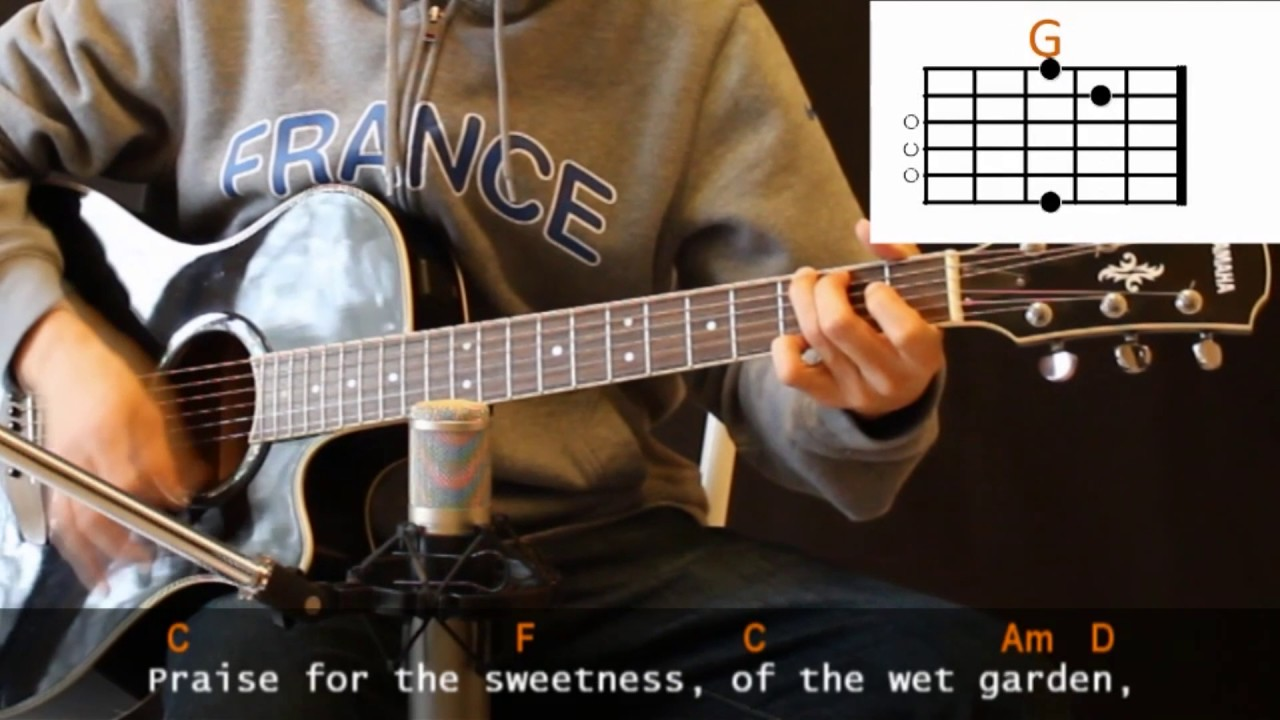 Cat Stevens Morning Has Broken Cover With Guitar Chords Lesson