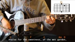 Cat Stevens - Morning Has Broken Cover With Guitar Chords Lesson