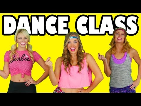 Dance Class with Margeaux, Jenn and Lindsey from DisneyToysFan.