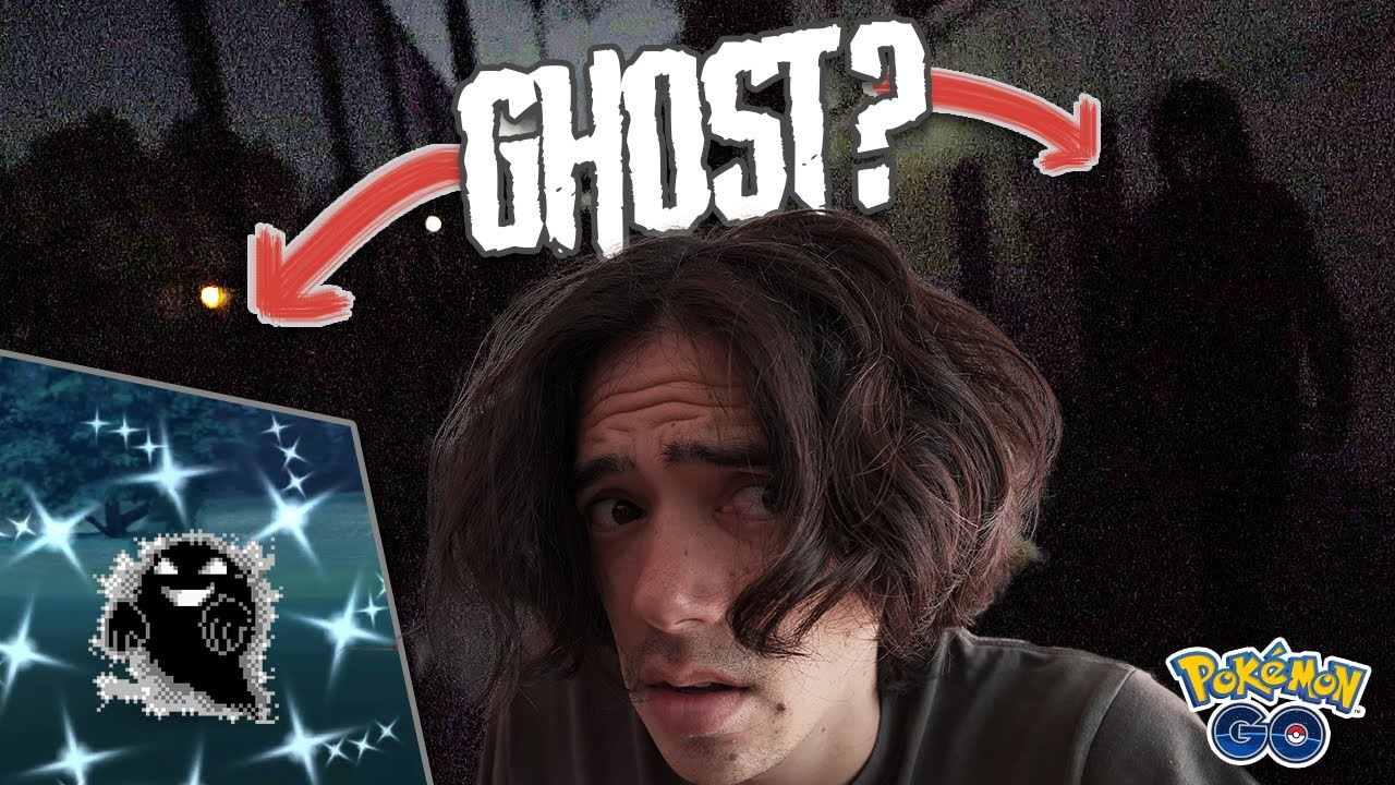 I FOUND A (shiny) GHOST AT THIS HAUNTED PARK! [Pokémon GO Halloween Event]