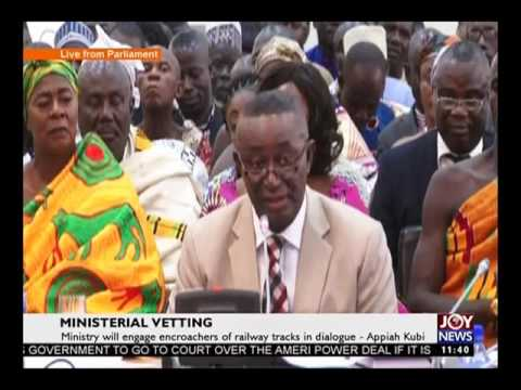 Ministerial Vetting on Joy News  (5-4-17)