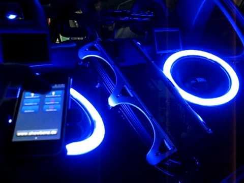 kofferraumbeleuchtung mit iphone steuerung youtube. Black Bedroom Furniture Sets. Home Design Ideas