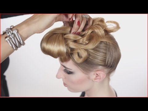 Runway Hair - Front Knot, Fashion and Beauty - Audrey Bethards, Hair and Makeup, Inc.