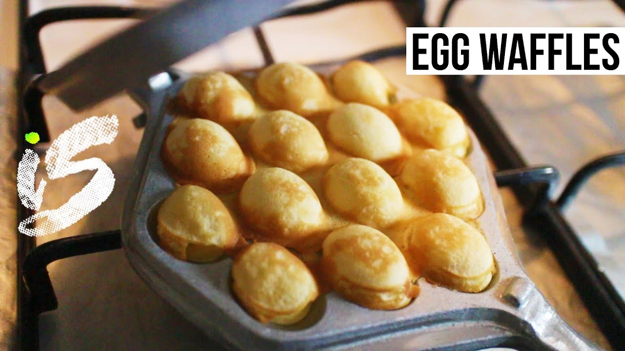 Egg Waffles | Recipe - YouTube