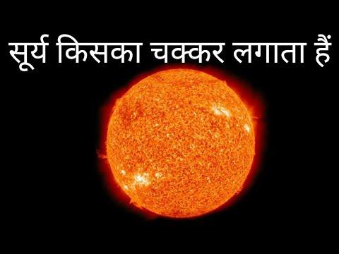 सूर्य किसका चक्कर लगाता हैं ? what does the sun revolve around