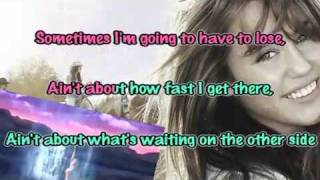 Miley Cyrus - The Climb (Karaoke Instrumental) with Lyrics