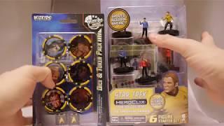 Star Trek HeroClix Away Team: The Original Series Starter Set and Dice & Token Pack First Look