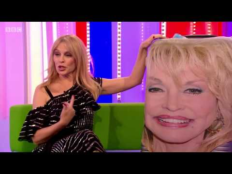 Kylie Minogue interview on The One Show. 9 Apr 2018