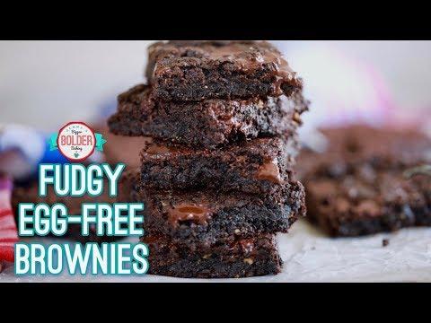 Fudgy Vegan Brownies | Bold Baking Guilt Free