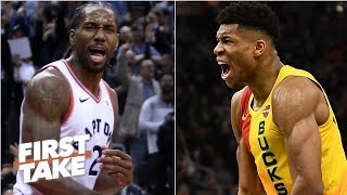 Bucks, Raptors, Celtics, or 76ers? Which is the East's best after deadline trades? | First Take