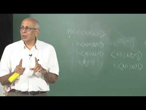 Mod-01 Lec-19 Power spectrum of noise