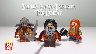 Lego Minifigure Closeup - Episode 5 - HOBBIT Bofur, Bifur, & Bombur