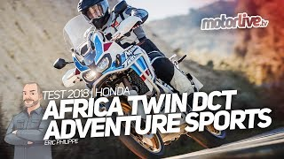 HONDA AFRICA TWIN ADVENTURE SPORTS DCT TEST 2018