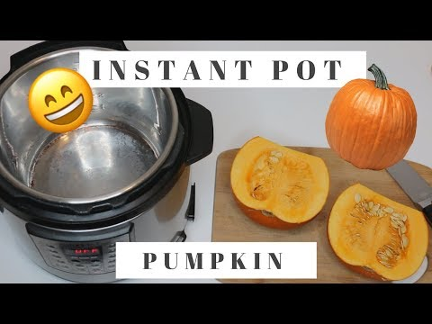 How to Cook Pumpkin in the Instant Pot Pressure Cooker