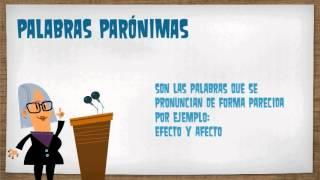 Homonimia y Paronimia