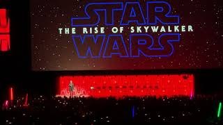 Star Wars Celebration 2019: Ian McDiarmid on stage at The Rise of Skywalker panel!
