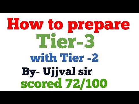 How to prepare for Tier-3 (Descriptive paper) with Tier-2