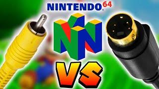 Nintendo 64 - S-Video vs. Composite Video Comparison [1080p] - 2017