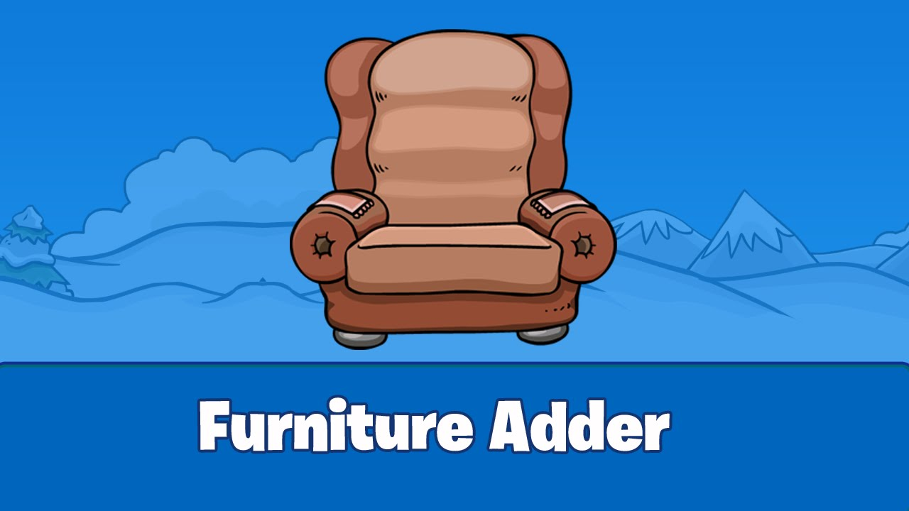 Club Penguin Furniture Adder Osetacouleur # Penguin Lodge Muebles Adder