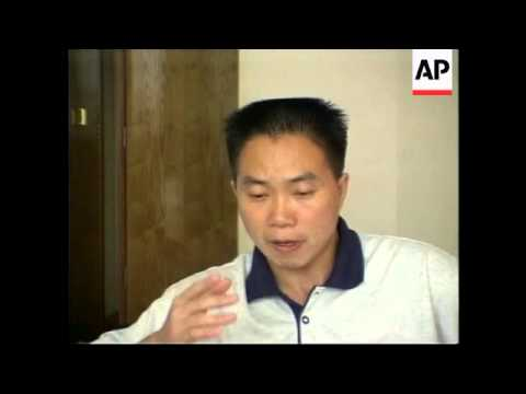 CHINA: CHINESE DISSIDENT LI JINHONG INTERVIEW
