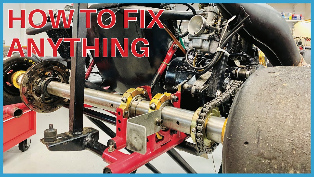 HOW TO: Fix Any Go Kart Part 2 - POWER REPUBLIC