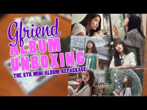 """[UNBOXING] GFRIEND - 5th Mini Album Repackage """"RAINBOW"""" SURPRISED!!! (INDONESIA)"""
