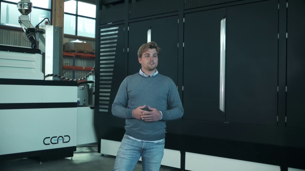 CEAD - Introducing Continuous Fibre Additive Manufacturing