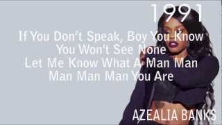 Azealia Banks 1991 Lyrics