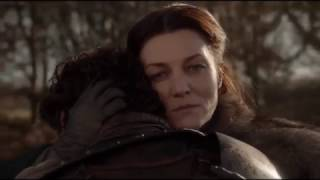 When lady stark come to know about eddard's death
