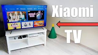 Xiaomi телевизор на 55 дюймов, покупаем новую тумбу, собираем, устанавливаем - Влог