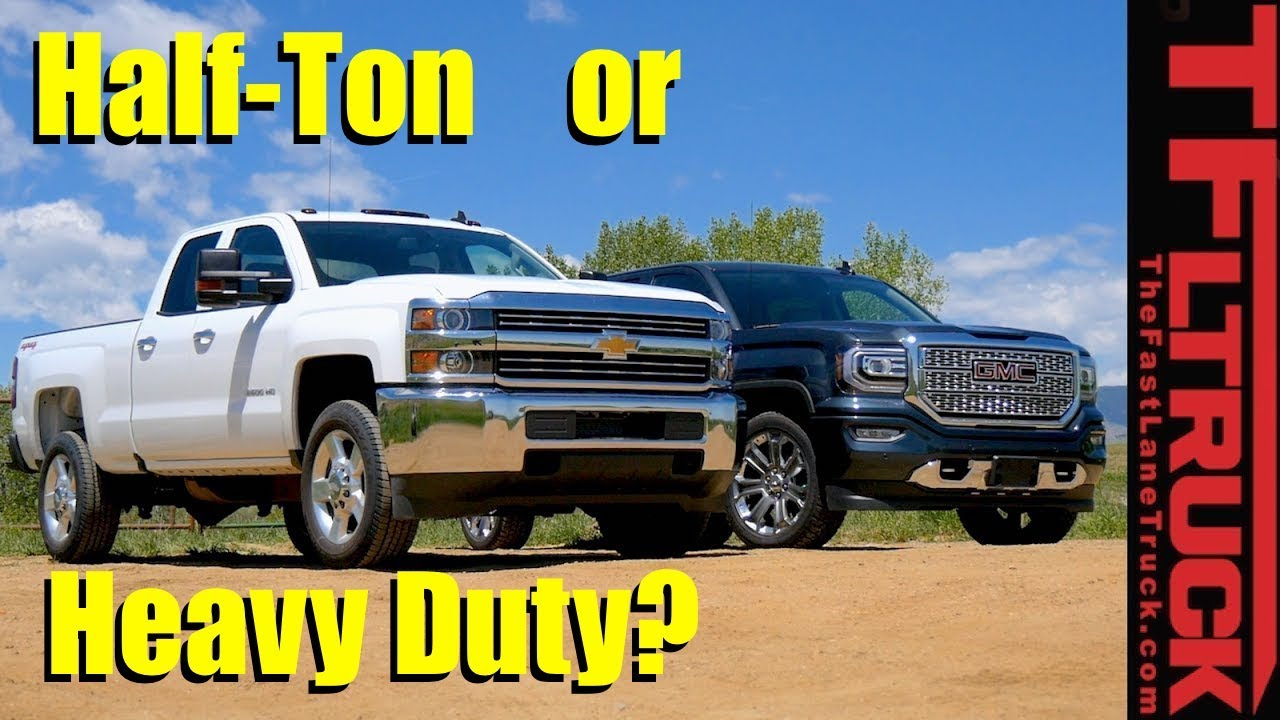 Half-Ton or Heavy Duty Pickup? Which Truck is Best for You