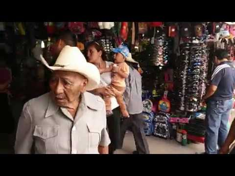 A Typical Day in Mexican Market