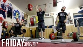 SNATCH AND CLEAN+JERK PB!! - BIG FRIDAY AT THE EMPIRE ft Sonny Webster