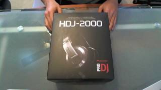 Pioneer HDJ-2000 Professional DJ Headphones Review
