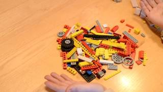 How to build the lego domino row building machine