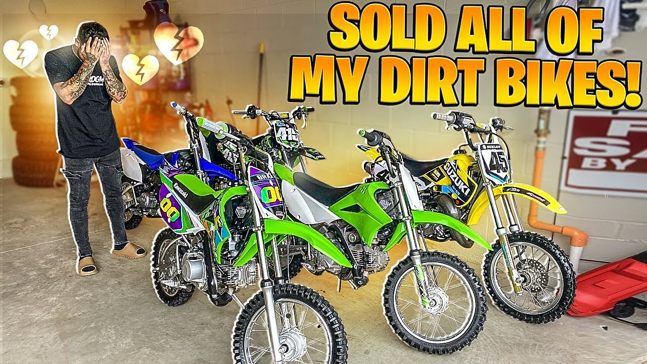 I SOLD ALL OF MY DIRT BIKES ! ( WHAT'S NEXT ? )  | BRAAP VLOGS