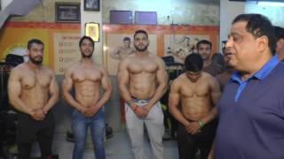 Upcoming bodybuilders of Dronacharya The Gym.