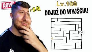 TOTALNIE '0 IQ' ZAGRANIA w Brain Out!