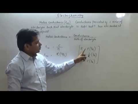 9  Electrochemistry: Resistance & Conductance (JEE Main + JEE Advanced + NEET+ AIIMS)