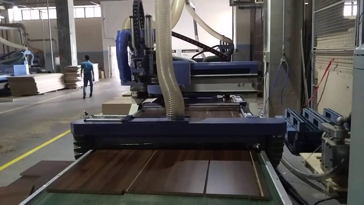 Wood Panel Furniture Cabinet Door Making Machine Youtube