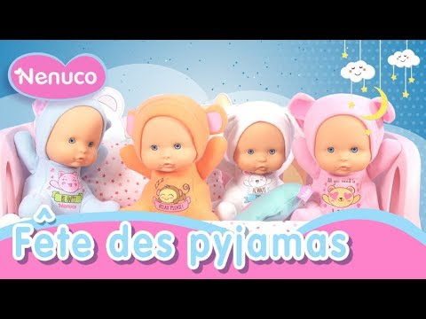 nenuco happy f te des pyjamas jouons avec pour deviner des mots en anglais youtube. Black Bedroom Furniture Sets. Home Design Ideas