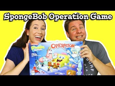 SpongeBob Operation Game Play Review