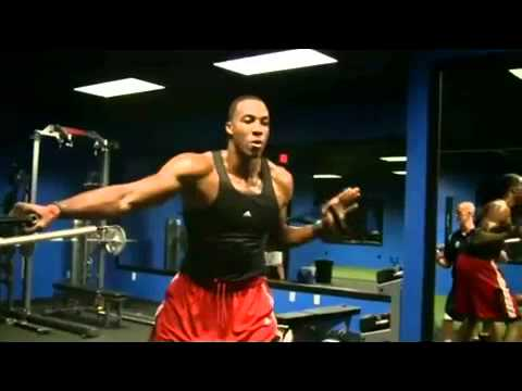 Dwight Howard 2010 Superman's Workout - YouTube