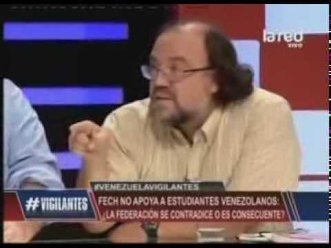 El tenso debate entre Esteban Silva y Margarita Hantke sobre Venezuela en television Chilena