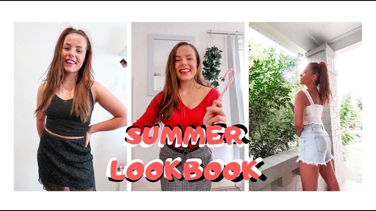 [VIDEO] - SUMMER FASHION OUTFITS / summer fashion Look Book 2019 / VLOGMAS DAY 11 1